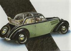 IFA DKW F8 Cabrio Limousine (1949-55)