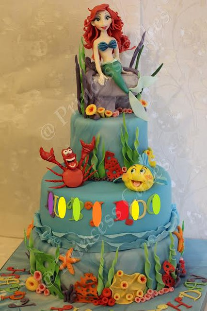 Welcome to Ariel's Magical Underwater World by Dhananji Nadeeka of Princess Cakes Glasgow