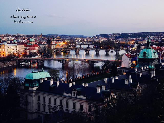 Hanavsky Pavilon布拉格超美夜景餐廳推薦 (3)