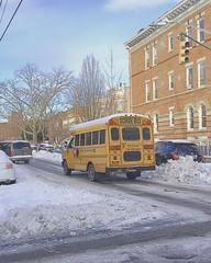 #brooklyn #morning #snow