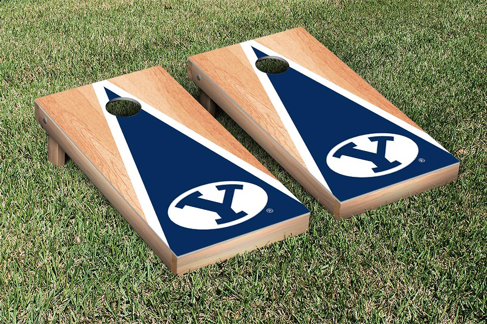 Brigham Young Cougars Hardcourt Triangle Version