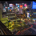Shibuya Night from Above by Mikedie1