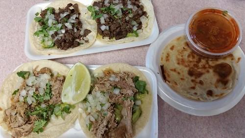 Tacos & Quesadilla