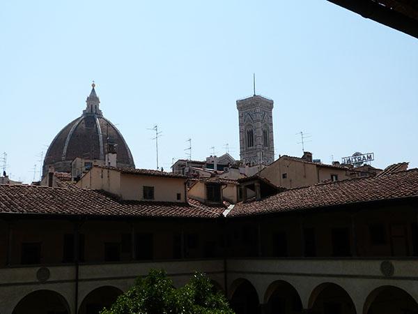 les toits de Florence depuis SAn Lorenzo