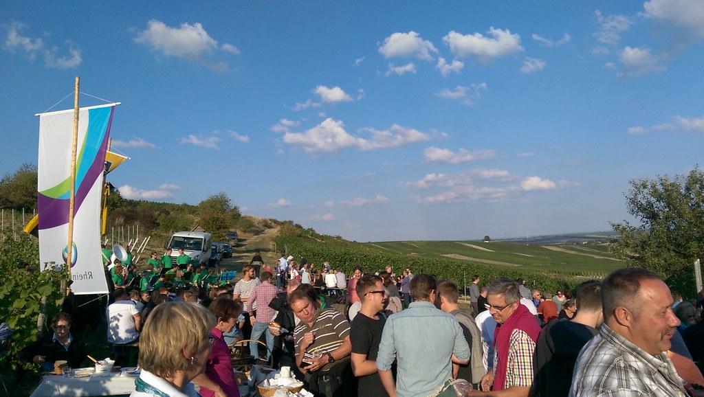 Weinprobe zur Kerb in Selzen (2015)