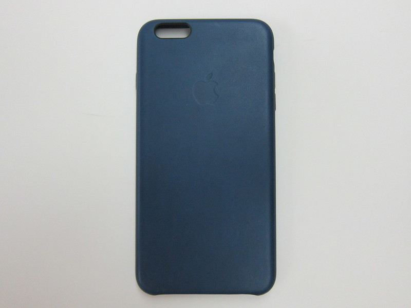 Apple iPhone 6s Plus Leather Case (Midnight Blue) - Back