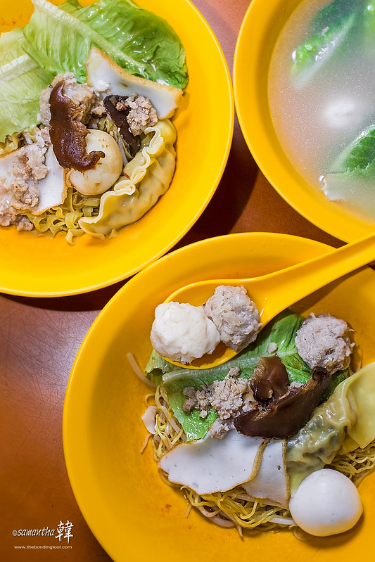 Teochew Hand Made Sotong Ball Pork Ball Mixed Soup