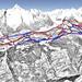 Mapa Aletsch