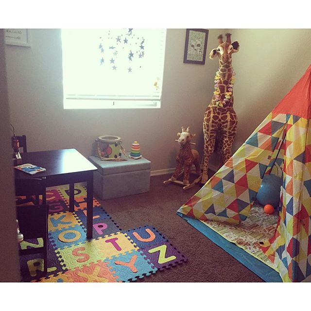 Bye bye nursery - hello playroom built for a toddler! by bartlewife