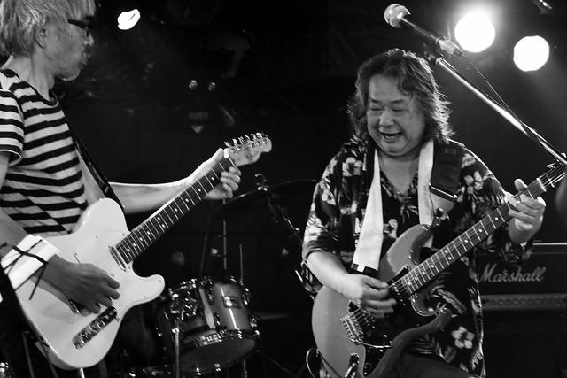 ファズの魔法使い live at Outbreak, Tokyo, 29 Sep 2015 - jam with Hideto Takenaka. 296