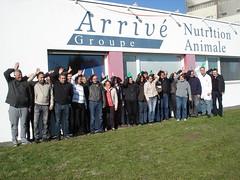 Les Equipes d'Arrivé Nutrition Animale et de NutriCiab