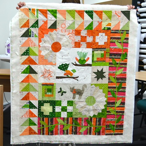 Garden for Birds Class Quilts