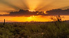 Desert Sunset over Phoenix by brianbaril_photography