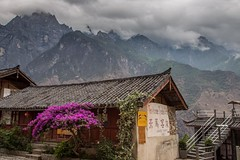 Tea Horse Guest House along Tiger Leaping Gorge in Yunnan, China #travel #china #hiking