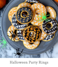 Halloween Party Rings