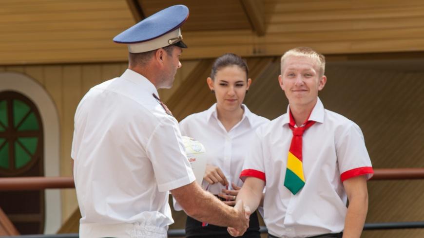 В «Орлёнке» завершился Всероссийский слёт юных инспекторов движения