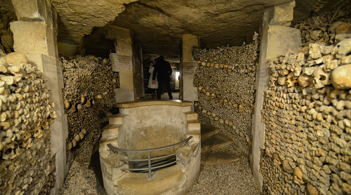 Panorama of Catacombes de Paris