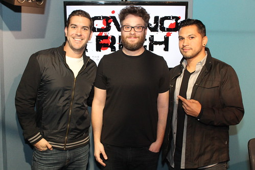 Seth Rogen returns to the Covino & Rich Show