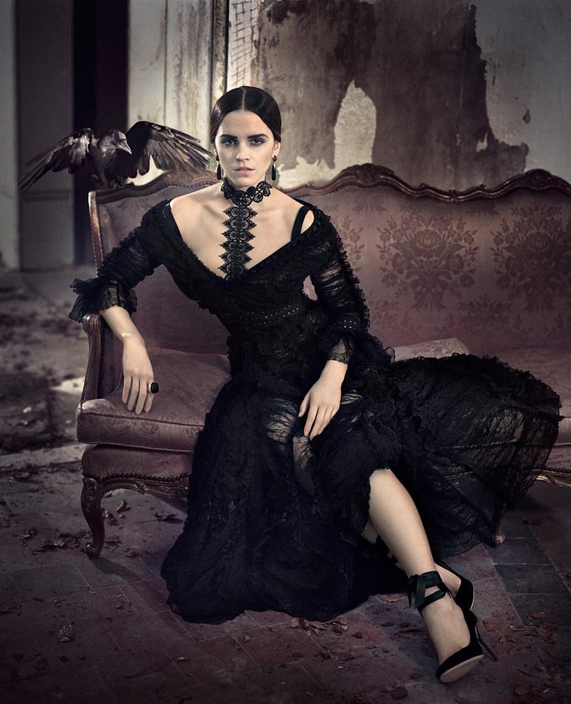 Эмма Уотсон — Фотосессия для «Vogue» IT 2015 – 4