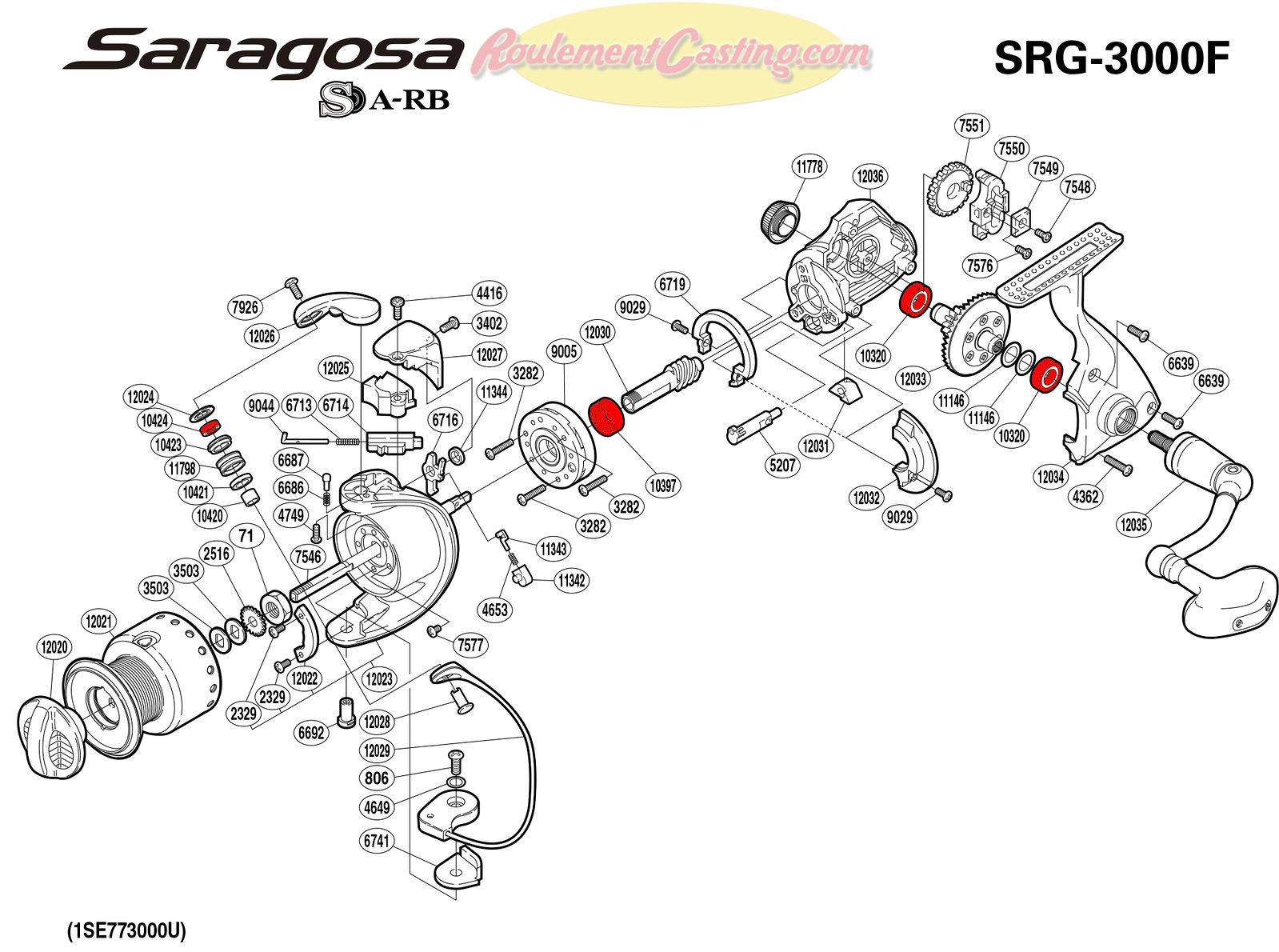 Schema-Shimano-SARAGOSA-3000F