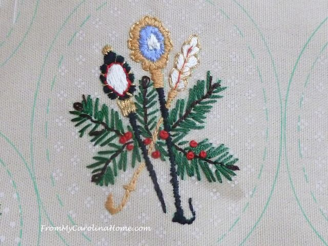 Stitching Ornaments Week 9 - 7