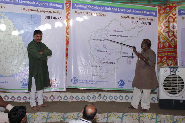 South East Asian pastoralist gathering of the Pastoralist Knowledge Hub, March 2015 - Gujarat, India