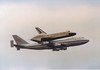 B747 N905NA & Nasa Space Shuttle Heathrow 5th June 1983