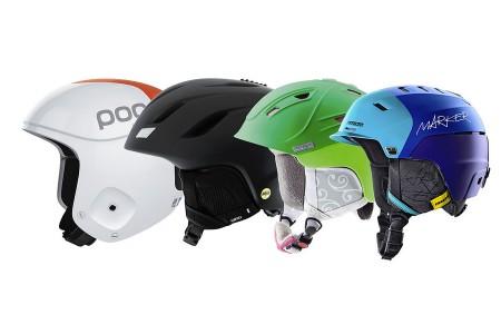 Lyžařské helmy – novinky na zimu