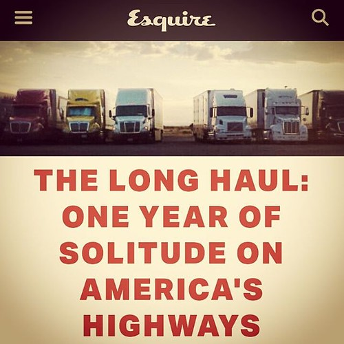 A journalist becomes a #TruckDriver and reveals some of the lesser known realities of being an #otrTrucker. Excerpt: