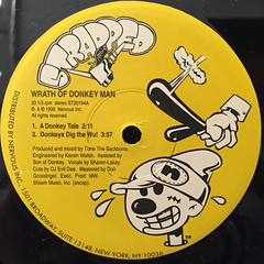 WRATH OF DONKEY MAN:DONKEY TALE(LABEL SIDE-A)