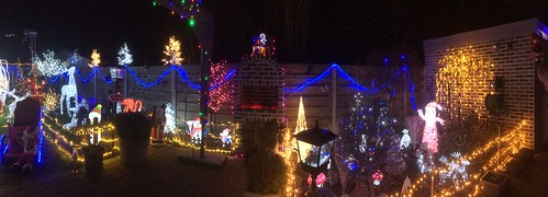 Panoramic Christmas picture