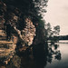Mirror Lake Cliffs by hartmantailor