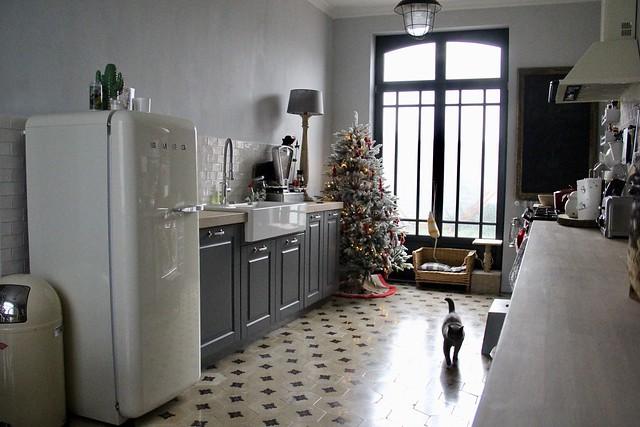 Keuken landelijk met kleur