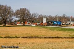 NS 8098 | GE ES44AC | NS Memphis District