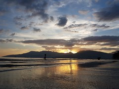 Sunset Beach Subic Bay Olongapo Zambales Strand Sonnenuntergang