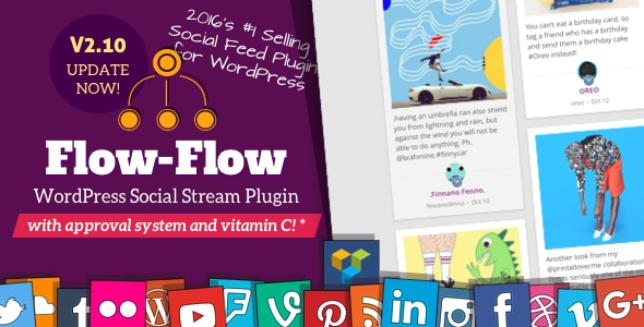 Flow-Flow v3.0.3 - WordPress Social Stream Plugin