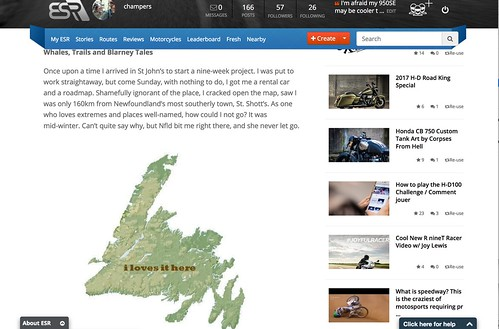 Canada's Top 20 Motorcycling Routes Newfoundland