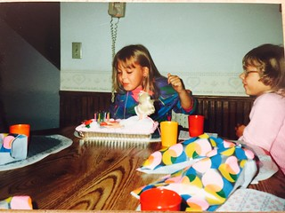 1986 - My birthday party