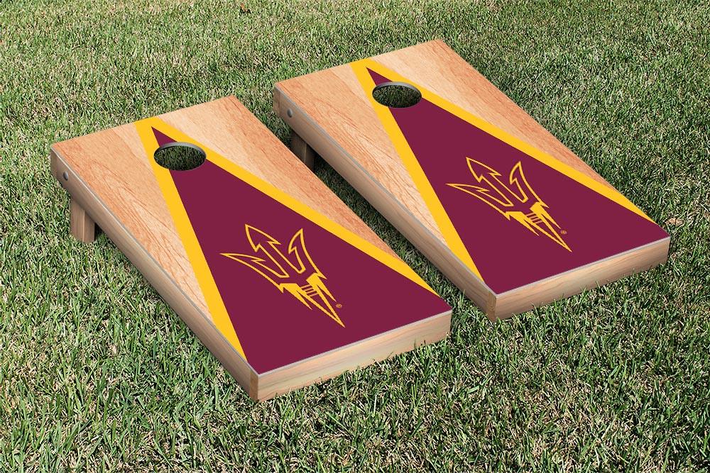 Arizona State Sun Devils Hardcourt Triangle Version