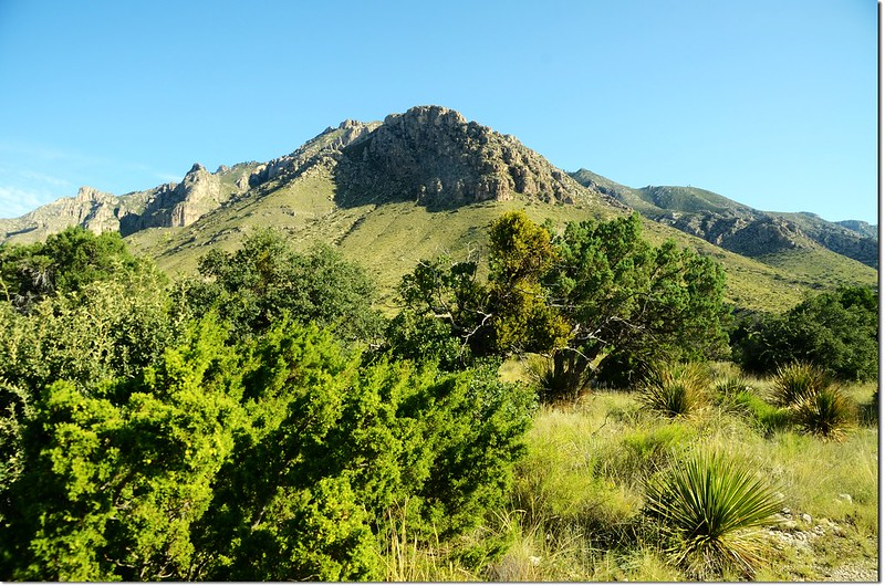 Guadalupe Mountains from The Pinery Nature Trail 1