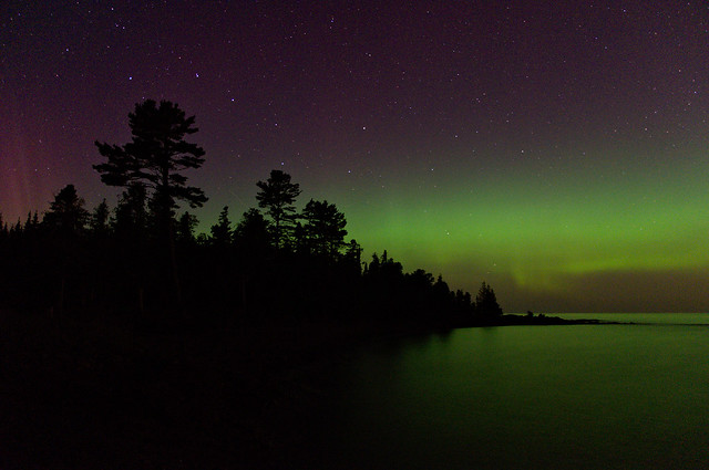 Aurora at High Rock Bay
