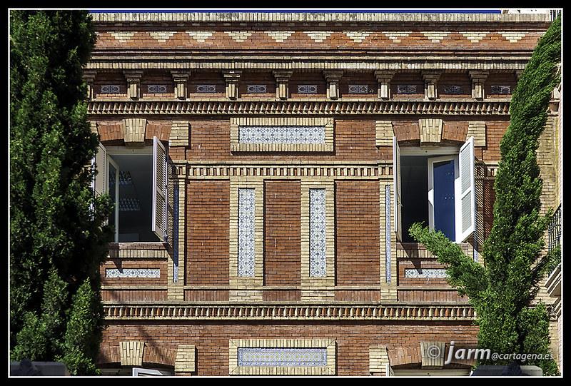 Las fotos de jarm arquitectura en ladrillo en cartagena - Arquitectura cartagena ...