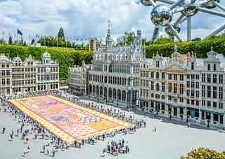 Image of Mini-Europe. belgium bruxelles