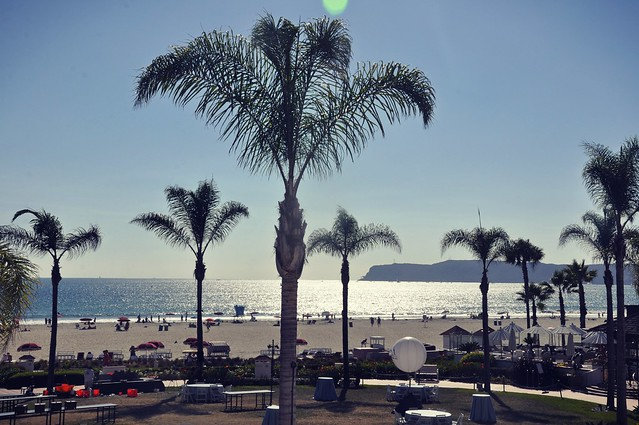 Beach View from Hotel del Coronado