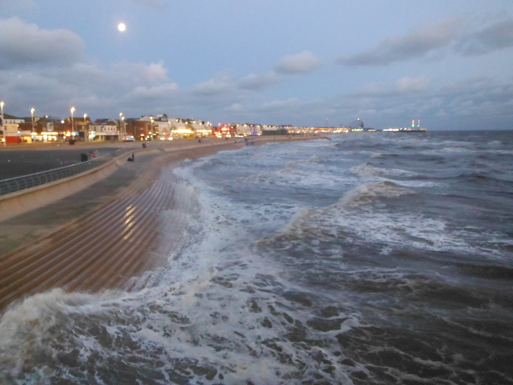 Blackpool From Central Pier 1