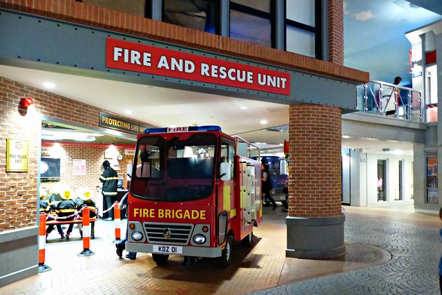 Kidzania London fire engine