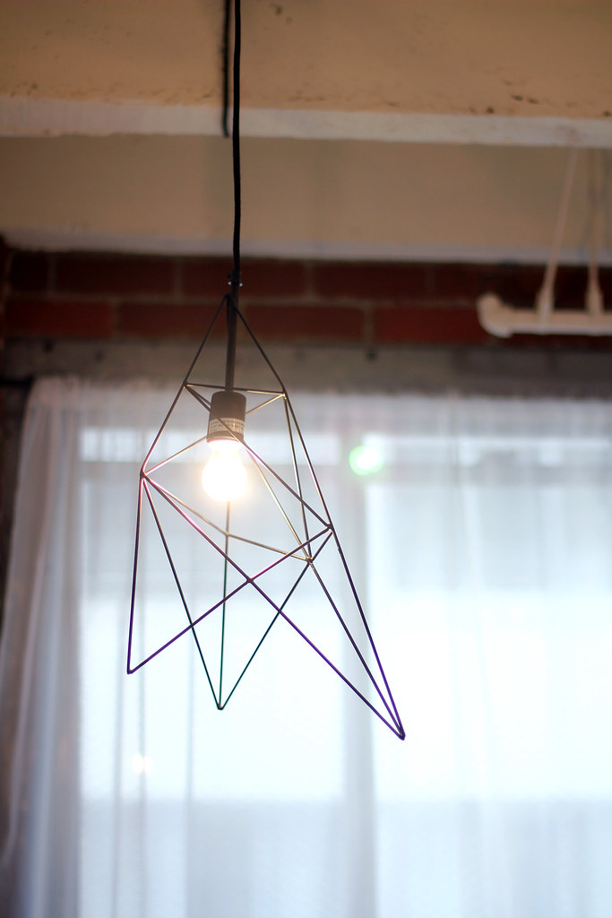 Urban Outfitters Home 4040 Locust Geometric Hanging Pendant