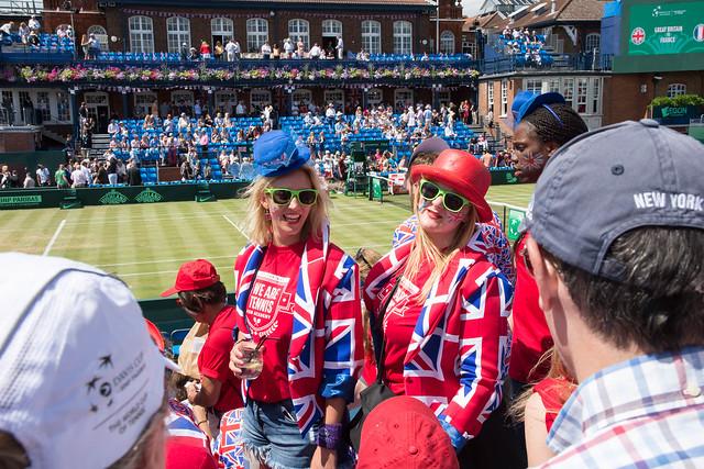 British fans