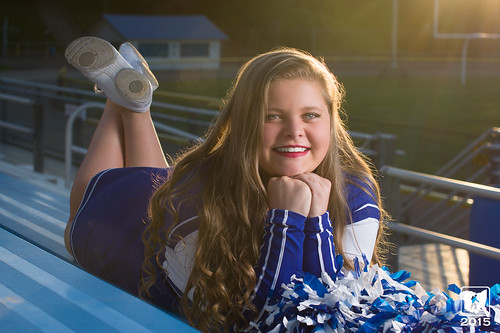 sunset fall lens 50mm football sony sigma flare cheerleading seniorportraits 2015 gallipolis strobist galliaacademy a6000 lumopro lp160 ohiohikerphotography shawnastanley