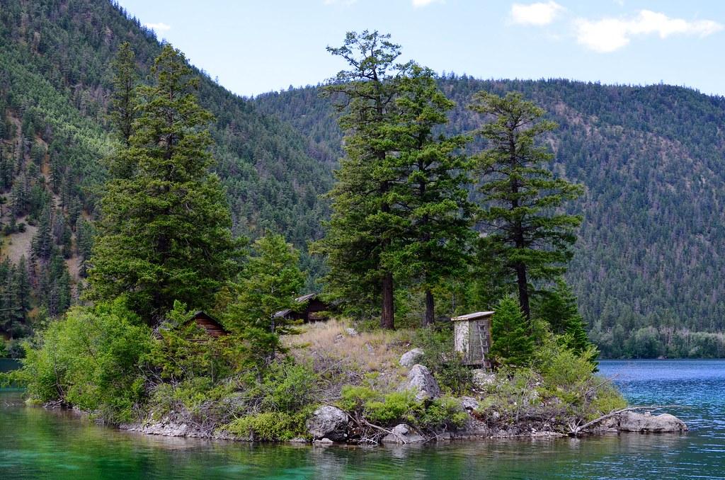 Pavilion Lake Island